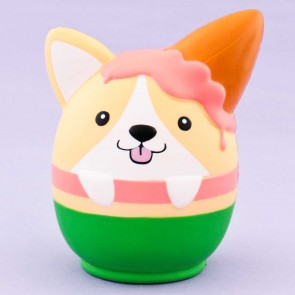 Corgi In An Ice Cream Bowl Squishy