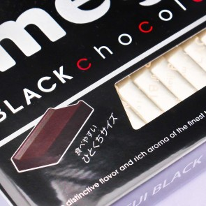 Meiji Black Chocolate Blocks