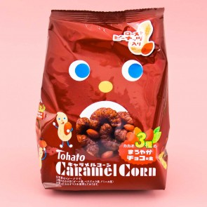Tohato Caramel Corn - Triple Chocolate