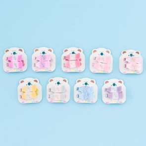 Soft Drink Pastel Hair Clip Set