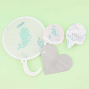 Kawaii Narwhal Foldable Fan