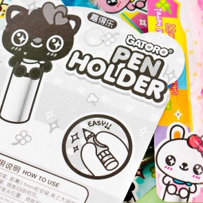 Cute Animals Pen Grips & Toppers