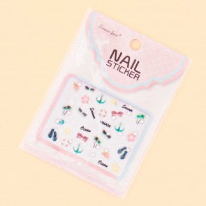 Summer Beach Nail Stickers