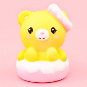 Yellow Bear In Creamy Cake Squishy