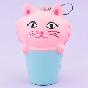 Cat In A Cup Squishy