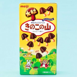 Big Meiji Mushroom Mountain Chocolate Biscuits