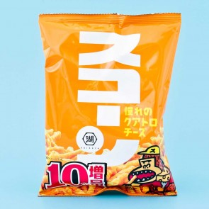 Koikeya Scone Corn Snacks – Four Cheese Flavor