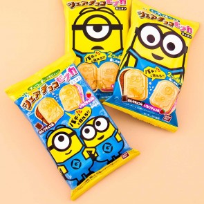 Minions Monaca Chocolate & Strawberry Wafer