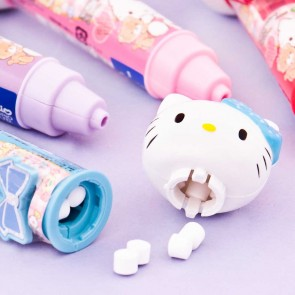 Hello Kitty Ramune Candy Mic Dispenser