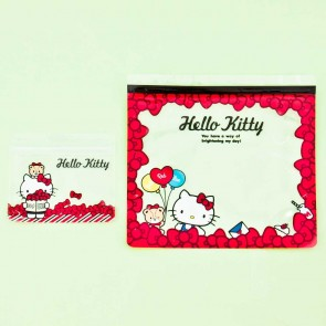 Hello Kitty Ziptop Bag Set - Ribbon Party