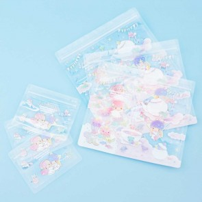 Little Twin Stars Ziptop Bag Set - Tea Party