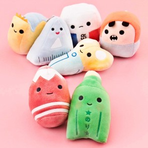 Cute Stationery Buddy Plush Charm