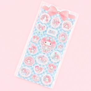 Pastel My Melody Puffy Stickers