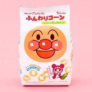 Tohato Anpanman Corn Rings - Light Salt