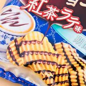 Calbee Zeitaku Tea Latte Potato Chips