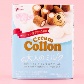 Glico Collon Biscuit Roll - Fragrant Milk