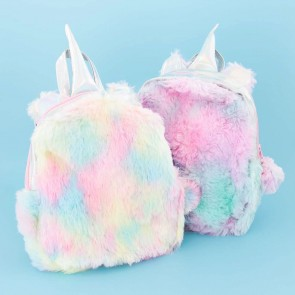 Holographic Rainbow Unicorn Backpack