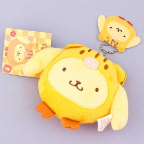 Pompompurin Fluffy Boar Purse