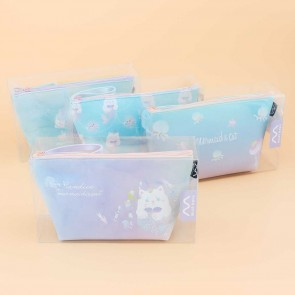 Cat Mermaid Cosmetic Bag