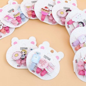 Pastel Kawaii Hair Clip Set