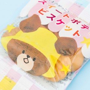 Hokka Kuma No Gakkou Biscuits Set - 4pcs