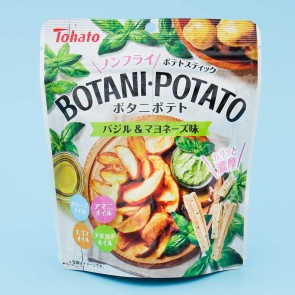 Tohato Botani Basil & Mayonnaise Potato Snacks