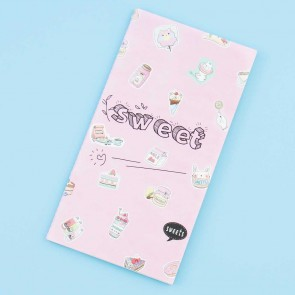 Nekoni Pink Sweets Notebook