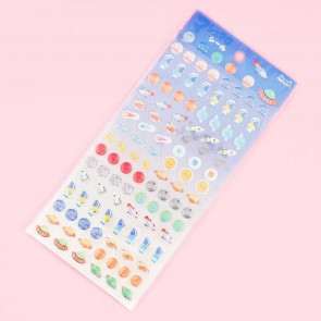 Nekoni Outer Space Puffy Stickers