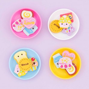 Sweet Desserts Eraser Set