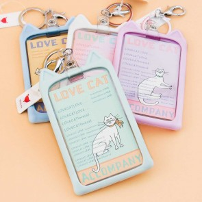 Lovely Cat Ears ID & Travel Card Case