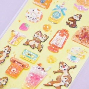 Sparkly Chip & Dale Stickers