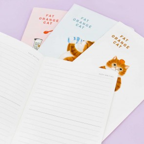 Cat Coffee Stand Notebook