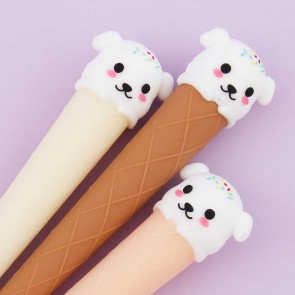 Puppy Ice Cream Cone Pen