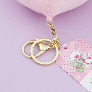 Kawaii Peach Plush Bag Charm