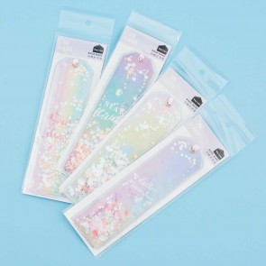 Shine Rainbow Shimmery Bookmark
