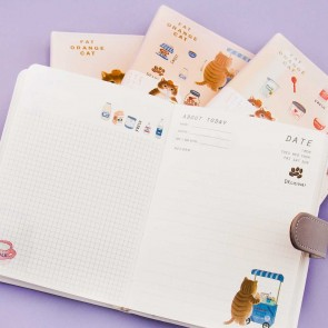 Kawaii Neko Leather Notebook