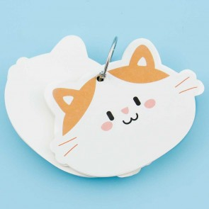 Kawaii Pet Keyring Notepad