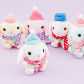 Pote Usa Loppy Snowman Plushie - Mini