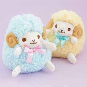 Hitsuji No Wooly Sheep Plushie - Medium