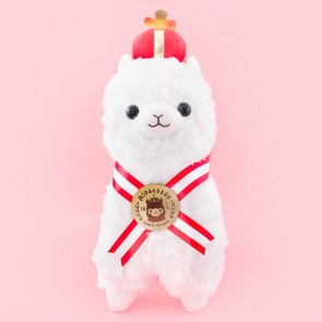 Alpacasso 10th Anniversary King Alpaca Plushie - Shiro Chan / Big