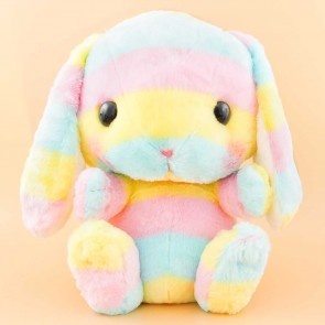 Pote Usa Loppy Rainbow Plushie - Big