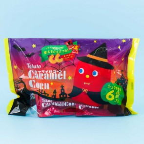 Tohato Caramel Corn Halloween Multi-Pack - 6 pcs
