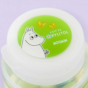 Lotte Xylitol Moomin Muscat Sweet Tea Gum