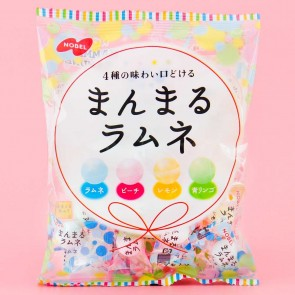 Nobel Mammaru Fruit Ramune Candies - Mixed