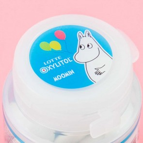 Lotte Xylitol Moomin Lychee & Peach Gum