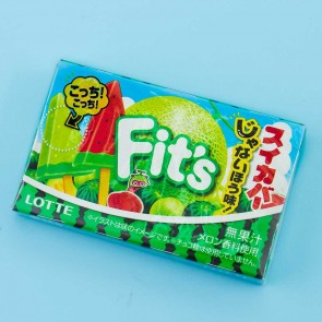 Lotte Fit's Bubble Gum - Melon & Watermelon Mix