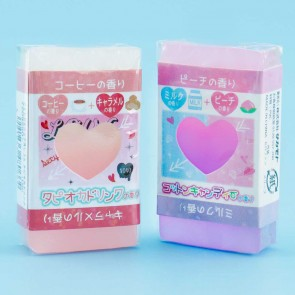 Cute Heart Scented Eraser