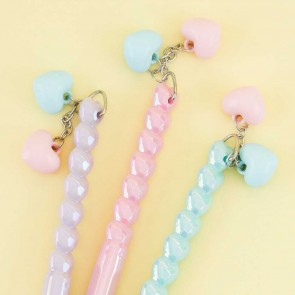 Pastel Heart Shiny Pen
