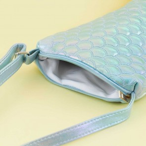 Blue Fantasy Mermaid Tail Shoulder Bag