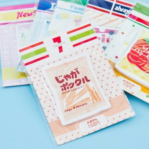 Convenience Store Snack Sticky Notes